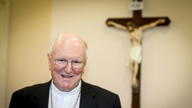 Melbourne Archbishop Denis Hart.