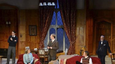 Perversely pleasurable ... Agatha Christie's comedy thriller, <i>The Mousetrap</i>.