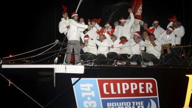 Inside the Heads: Henri Lloyd has claimed first place in the Sydney leg of the Clipper Round the World Yacht Race.