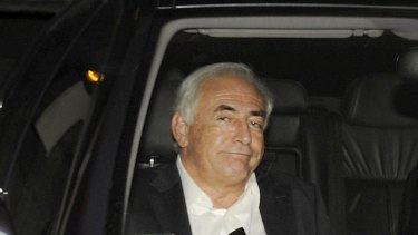 Mr Strauss-Kahn leaves his Paris apartment this week to talk to police.