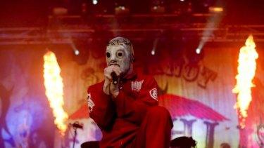 Shock metal act Slipknot will co-headline Soundwave 2015