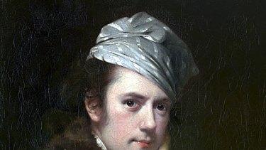 English painter Joseph Wright's 1770 self-portrait