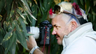 Pictured paparazzi tycoon Darryn Lyons at Flagstaff hill Warrnambool.He is the headline speaker at the Australian institute of professional photography conference which run from the 8-10 september. 080910am15 SPECIAL 01038513