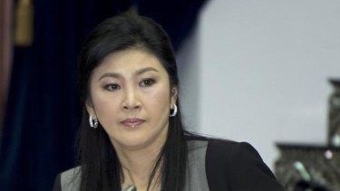 Victim of crude attacks: Thai Prime Minister Yingluck Shinawatra.