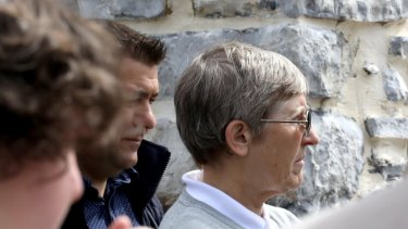 'A very precious resource': Locals in the small French village where Christine Cabon lives are aware of her past.