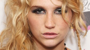 Baby love ... Ke$ha says she wears her own placenta as a necklace.