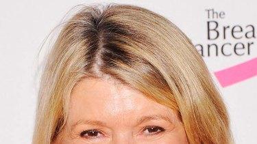 Martha Stewart ... lives in the building.