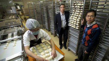 Now they're really baking ... Breadtop founders Simon and Kenneth Ip.