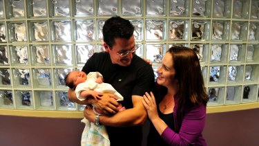 Zed Seselja and wife Ros welcome their fifth child in 2013. Seselja said children do best when they are raised by their biological mother and father.
