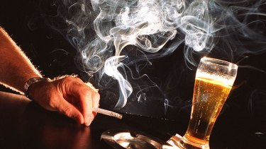 Alcohol and smoking are fuelling a spread in 'non-communicable' diseases.