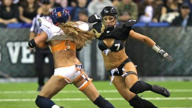 The Lingerie Football League will be launched in Australia this June.