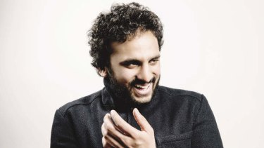 Nish Kumar: wry observer of racists and fan of <i>The Simpsons</i>.