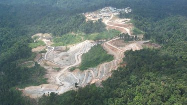 Newcrest's Gosowong goldmine in Indonesia. New rules mean Newcrest will have to sell down its stake.
