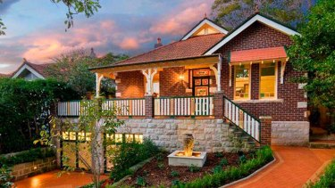 The highest-price house to be sold at weekend auctions ... 17 Cameron Avenue, Artarmon, which fetched $2,605,000.