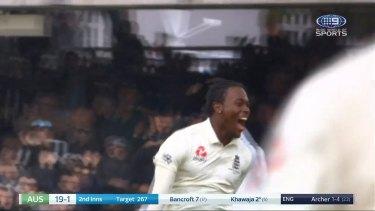 Jofra Archer had a maiden Test match to remember at Lord's, taking wickets and inflicting pain on several Australian batsmen in a warning sign for the rest of the series.