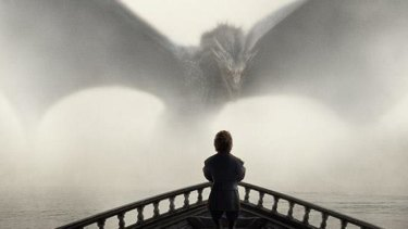 Tyrion finally glimpses the dragon Drogon.