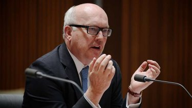 George Brandis is critical of the NSW bar.