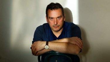 Author Christos Tsiolkas.