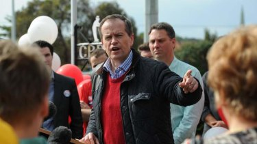 Passionate proposal: Bill Shorten hopes to broaden Labor's quota system to include unrepresented members of the Australian community.