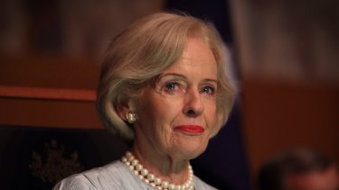 Speaking out: Former governor-general Dame Quentin Bryce has been particularly affected by childrens' accounts of abuse.