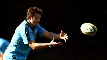 Back ... Richie McCaw during an All Blacks training session this week.