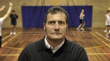 Collingwood Basketball Association president Tim Brewin.
