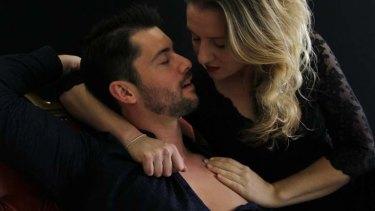 Passion plays: David Hansen and Celeste Lazarenko star in the opera Giasone.