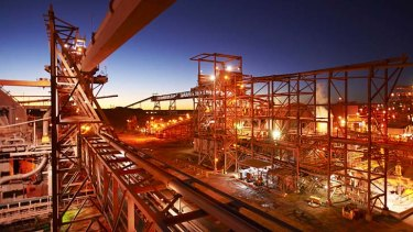 Top 20 emitter: BHP's processing plant near the Olympic Dam mine.