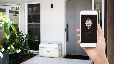 Chester is another smart mailbox, but will allow deliveries from anybody. Once locked it will only open on its owners command.