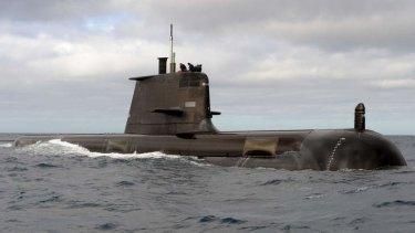 Collins Class Submarine.