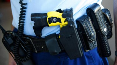 Claims of police Taser initiation rituals first emerged earlier this year.