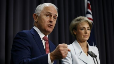 """Prime Minister Malcolm Turnbull and Employment Minister Senator Michaelia Cash have warned against an """"excessive"""" rise in the minimum wage."""