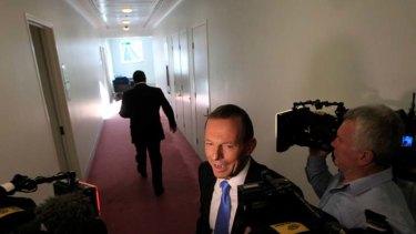 """[Ramping] up the same class warfare rhetoric he used last year"" ... Tony Abbott."