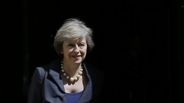 "New Prime Minister Theresa May promised to fight ""burning injustice"" in British Society."