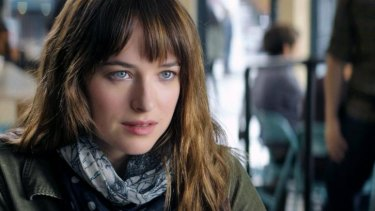 Dakota Johnson has banned her family from watching <i>Fifty Shades of Grey</i> because of the kink.
