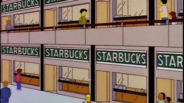 There are now five Starbucks in the city.