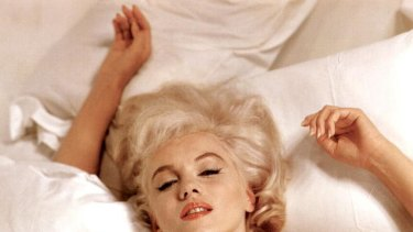 A classic picture of Marilyn Monroe taken by photographer Eve Arnold.