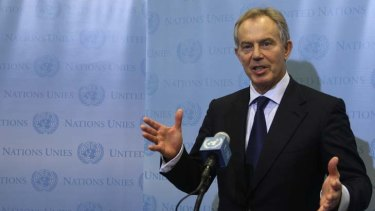 Tony Blair ... admits he's unlikely to be PM again.