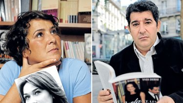 Left: Besma Lahouri: Refused access. Right: Yves Derai: Unflattering portrayal.
