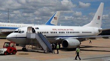 Politics: VIP flights beat a path to Wynyard's door.
