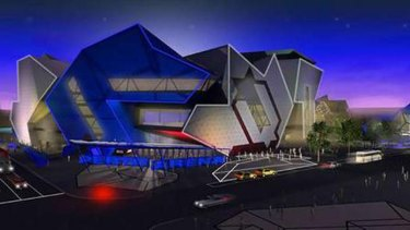 Perth Arena ... due to open on November 10.