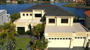 Matthew Clapham's Gold Coast mansion.