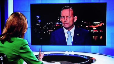 'What better way for Tony Abbott to repay... the Murdoch press than by cutting the ABC's budget.'
