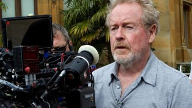 Director Ridley Scott has taken a break from <i>Exodus</i> to focus on the Fox series.