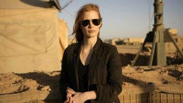 Jessica Chastain in Kathryn Bigelow's <i>Zero Dark Thirty</i>