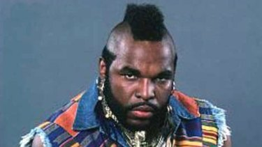 Are you going to tell him? Mr T and his idiosyncratic locks.