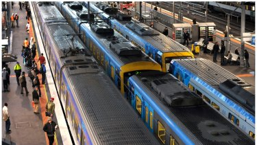 Train strain: Successive governments have failed to meet growing demand since the early '90s.
