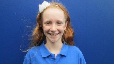 Missing schoolgirl Michelle Levy.
