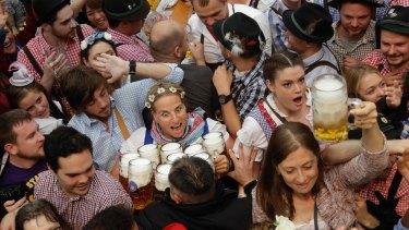 Oktoberfest in Munich last year.