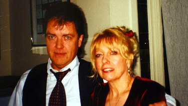 Informer... Terence Hodson and his wife Christine.